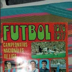 Coleccionismo deportivo: 1976/1977 76/77 RUIZ ROMERO. ALBUM PLANCHA VACÍO CON 9 CROMOS. LEER. Lote 96965843
