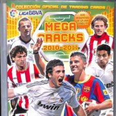 Coleccionismo deportivo: ALBUM MEGA CRACKS 2010 - 2011 222 CROMOS. Lote 97088059