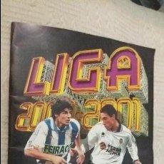 Coleccionismo deportivo: 2000/2001 00/01 ESTE. ALBUM BASTANTE COMPLETO CON 88 DOBLES, BAJA Y FICHAJE DUSCHER. LEER . Lote 97164011