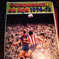 Coleccionismo deportivo: CAMPEONATO DE LIGA 1974-75-DISGRA-FHER. Lote 97528023