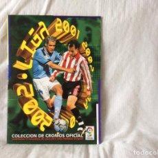 Coleccionismo deportivo: ALBUM LIGA 2001-2002 EDICIONES ESTÉ CON 283 CROMOS.. Lote 97685007
