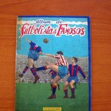 Coleccionismo deportivo: FUTBOLISTAS FAMOSOS, LIGA 1953-1954, 53-54 - EDITORIAL FHER - VER FOTOS E INFORMACIÓN INTERIOR. Lote 97756639
