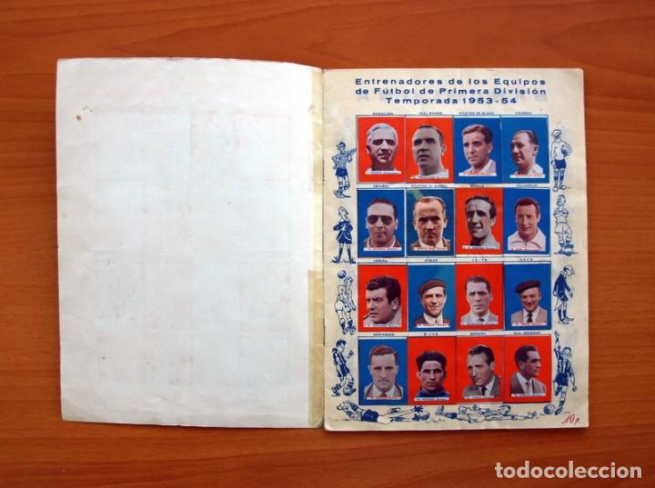 Coleccionismo deportivo: Futbolistas famosos, Liga 1953-1954, 53-54 - Editorial Fher - ver fotos e información interior - Foto 2 - 97756639