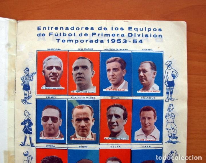 Coleccionismo deportivo: Futbolistas famosos, Liga 1953-1954, 53-54 - Editorial Fher - ver fotos e información interior - Foto 3 - 97756639