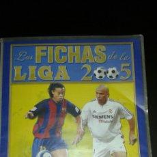 Coleccionismo deportivo: LAS FICHAS DE LA LIGA 2005.. Lote 98054634