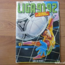 Coleccionismo deportivo: ALBUM LIGA COLECCIONES ESTE 91 92 SIN CROMOS - FUTBOL 1991 1992. Lote 98065091