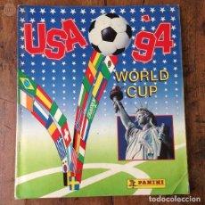 Coleccionismo deportivo: ALBUM CE CROMOS USA 94 DE PANINI ORIGINAL EN PERFECTAS CONDICIONES . Lote 98429211
