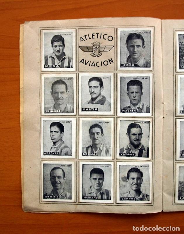 Coleccionismo deportivo: Libreta deportiva - Liga 1942-1943, 42-43, Primera división - Editorial Cisne - Foto 3 - 98573943