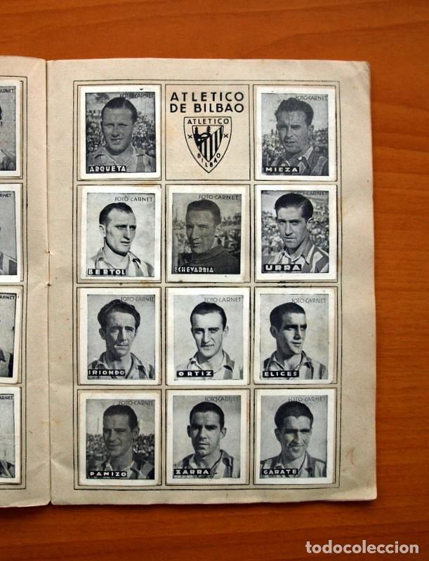 Coleccionismo deportivo: Libreta deportiva - Liga 1942-1943, 42-43, Primera división - Editorial Cisne - Foto 4 - 98573943