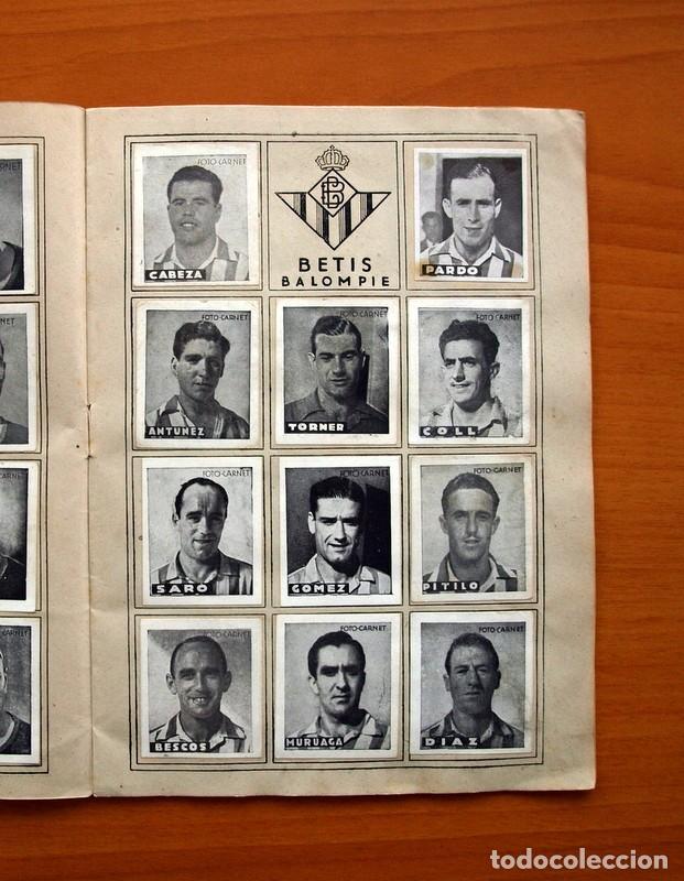 Coleccionismo deportivo: Libreta deportiva - Liga 1942-1943, 42-43, Primera división - Editorial Cisne - Foto 6 - 98573943