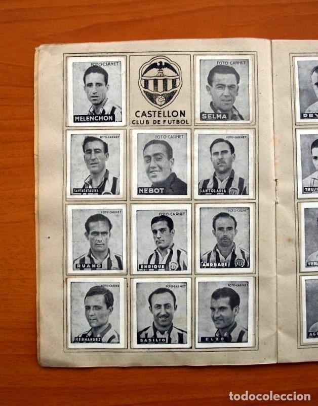 Coleccionismo deportivo: Libreta deportiva - Liga 1942-1943, 42-43, Primera división - Editorial Cisne - Foto 7 - 98573943