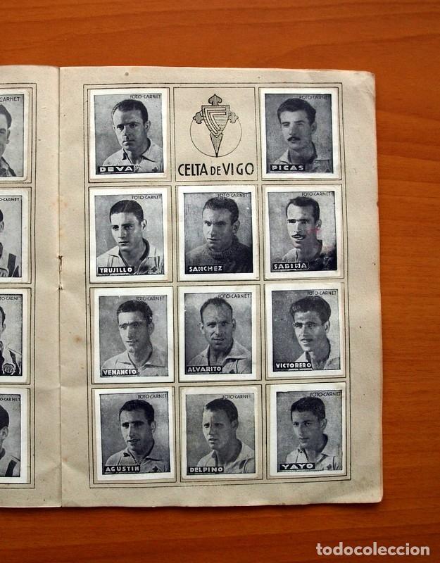 Coleccionismo deportivo: Libreta deportiva - Liga 1942-1943, 42-43, Primera división - Editorial Cisne - Foto 8 - 98573943