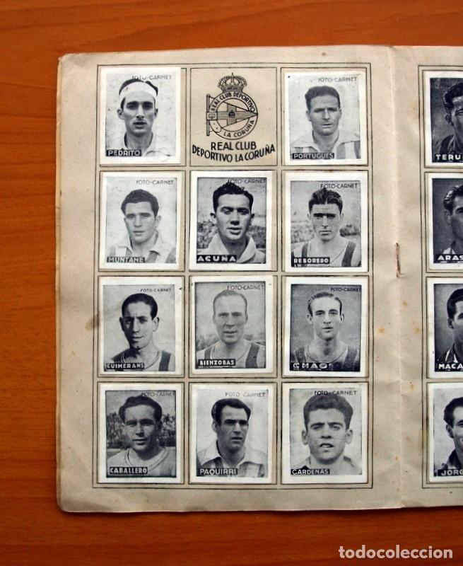Coleccionismo deportivo: Libreta deportiva - Liga 1942-1943, 42-43, Primera división - Editorial Cisne - Foto 9 - 98573943