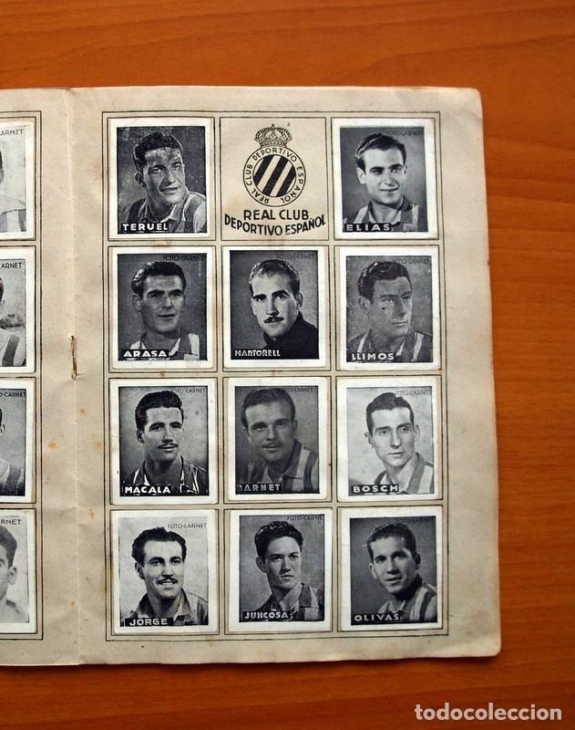 Coleccionismo deportivo: Libreta deportiva - Liga 1942-1943, 42-43, Primera división - Editorial Cisne - Foto 10 - 98573943