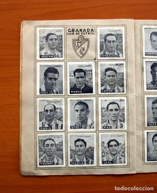 Coleccionismo deportivo: Libreta deportiva - Liga 1942-1943, 42-43, Primera división - Editorial Cisne - Foto 11 - 98573943