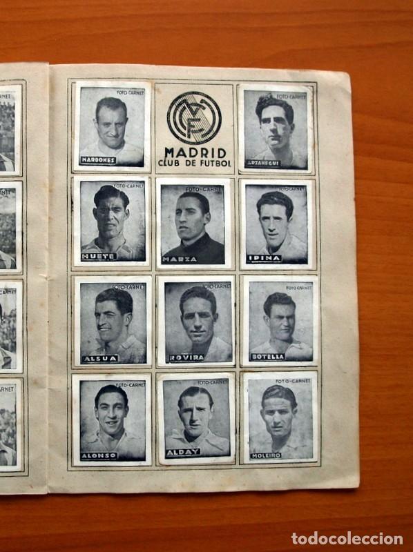 Coleccionismo deportivo: Libreta deportiva - Liga 1942-1943, 42-43, Primera división - Editorial Cisne - Foto 12 - 98573943