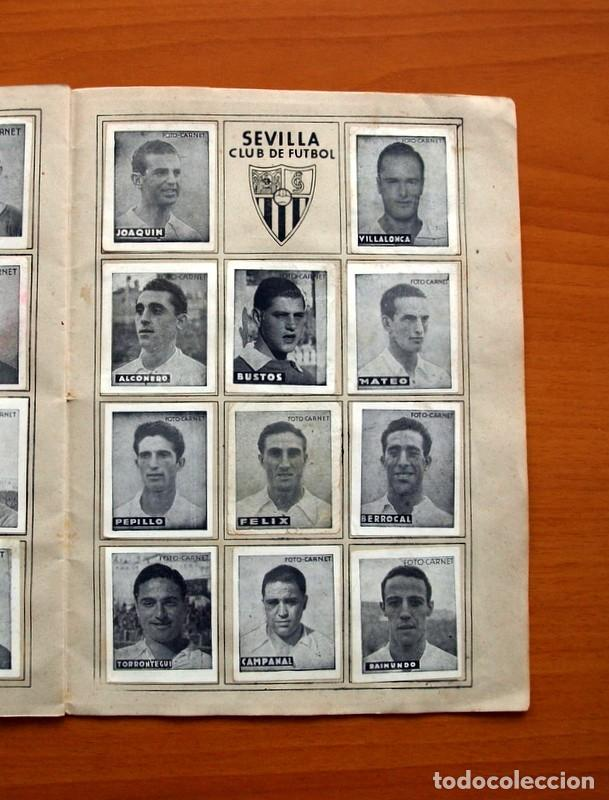 Coleccionismo deportivo: Libreta deportiva - Liga 1942-1943, 42-43, Primera división - Editorial Cisne - Foto 14 - 98573943
