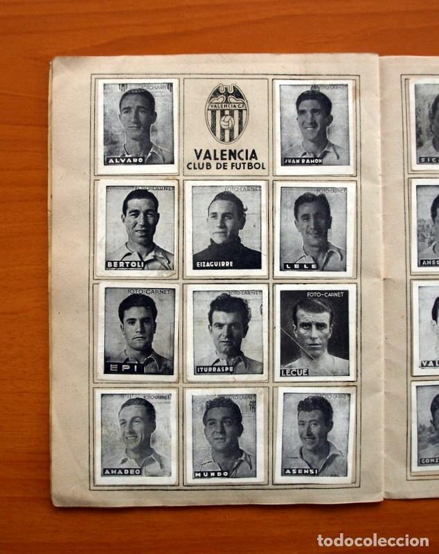 Coleccionismo deportivo: Libreta deportiva - Liga 1942-1943, 42-43, Primera división - Editorial Cisne - Foto 15 - 98573943
