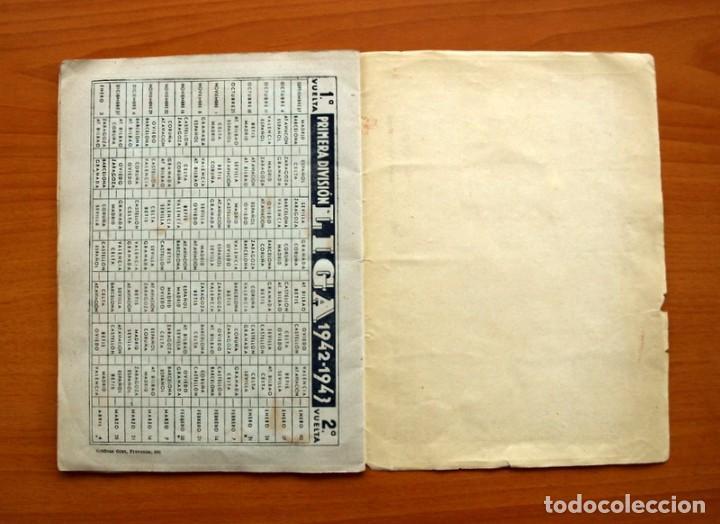 Coleccionismo deportivo: Libreta deportiva - Liga 1942-1943, 42-43, Primera división - Editorial Cisne - Foto 18 - 98573943