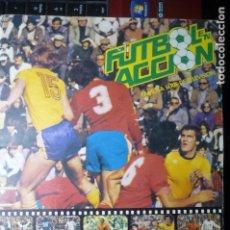 Coleccionismo deportivo: ALBUM INCOMPLETO FUTBOL EN ACCION FALTAN 31 CROMOS -DANONE. Lote 98623019