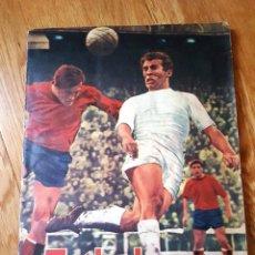 Coleccionismo deportivo: FÚTBOL 1ª Y 2ª DIVISIÓN, TEMPORADA 1968 -1969, 68 - 69 - EDITORIAL FHER + SOBRE CROMOS SIN ABRIR. Lote 98751239