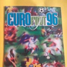 Coleccionismo deportivo: ÁLBUM EURO FOOT 96. INCOMPLETO. Lote 98813011
