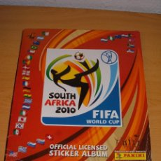 Coleccionismo deportivo: ALBUM MUNDIAL SOUTHAFRICA 2010. Lote 98988283