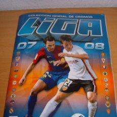 Coleccionismo deportivo: ALBUM FUTBOL LIGA 2007-08. Lote 98988491