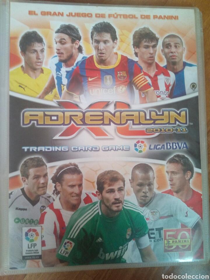 ARCHIVADOR ADRENALYN 10-11 (Coleccionismo Deportivo - Álbumes y Cromos de Deportes - Álbumes de Fútbol Incompletos)
