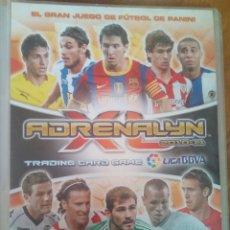 Coleccionismo deportivo: ARCHIVADOR ADRENALYN 10-11. Lote 99300052