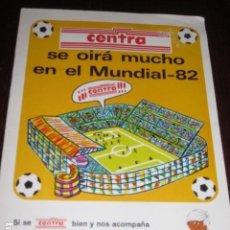 Coleccionismo deportivo: ALBUM CROMOS DE FUTBOL MUNDIAL ESPAÑA 82 CENTRA, INCOMPLETO. Lote 55801719