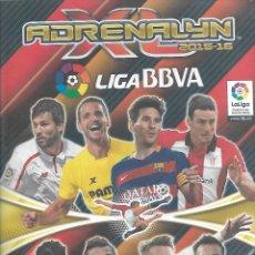Coleccionismo deportivo: ALBUM DE FUTBOL ADRENALYN 2015/16 CON 567 FICHAS. Lote 99419147