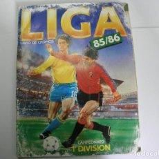 Coleccionismo deportivo: ALBUM DE FUTBOL 85 86 1985 1986 - PREGUNTAR CROMOS SUELTOS.. Lote 99462151