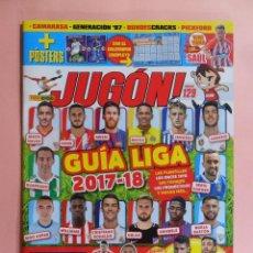 Coleccionismo deportivo: REVISTA JUGON Nº 129 - 2017 - NUEVA. Lote 102741052