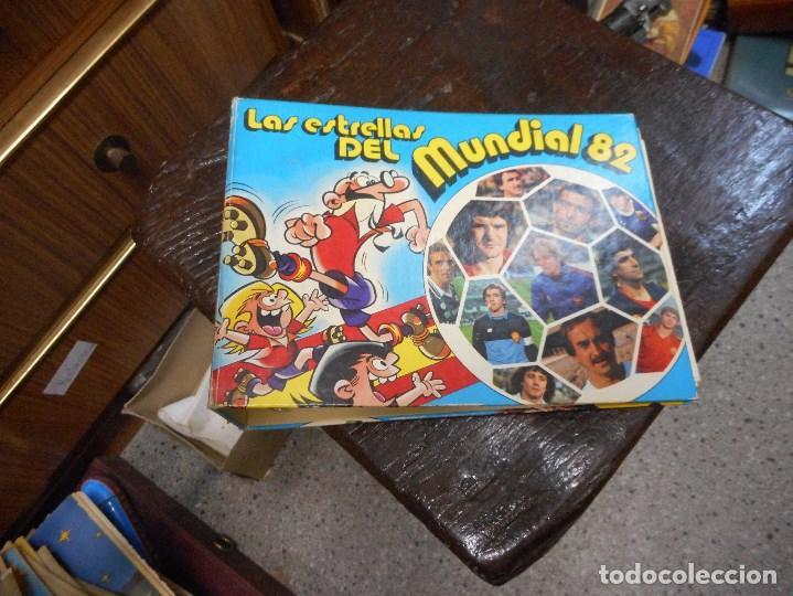 ALBUM FUTBOL LAS ESTRELLAS DEL MUNDIAL 82 (Coleccionismo Deportivo - Álbumes y Cromos de Deportes - Álbumes de Fútbol Incompletos)