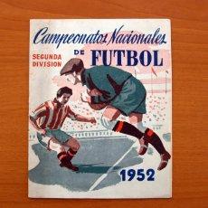 Coleccionismo deportivo: CAMPEONATOS NACIONALES FÚTBOL 2ª DIVISIÓN 1952 -EDITORIAL RUIZ ROMERO -VACIO Y CON 46 CROMOS SUELTOS. Lote 100128891