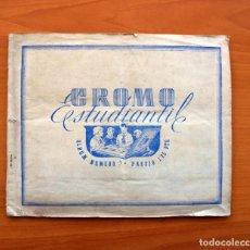 Coleccionismo deportivo: ÁLBUM CROMO ESTUDIANTIL Nº 3 - AÑO 1941 - VER FOTOS Y EXPLICACIONES INTERIORES. Lote 100135767