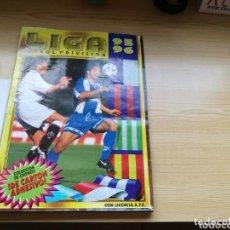 Coleccionismo deportivo: ÁLBUM DE FÚTBOL DE LA LIGA ESPAÑOLA. TEMPORADA 1995-96. EDICIONES ESTE. INCOMPLETO, SOBRE 370 CROMOS. Lote 100247519