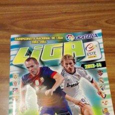 Coleccionismo deportivo: ALBUM CROMOS FÚTBOL COLECCIONES ESTE, TEMPORADA 2013/14. PANINI. INCOMPLETO. LEER DESCRIPCIÓN. Lote 100391371