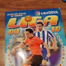 Coleccionismo deportivo: ALBUM CROMOS FÚTBOL COLECCIONES ESTE, TEMPORADA 2009/10.PANINI. Lote 100396331