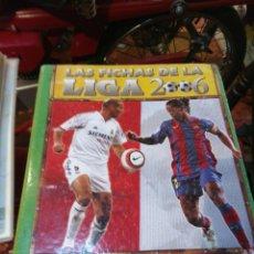Coleccionismo deportivo: LAS FICHAS DE LA LIGA 2006. Lote 100454668