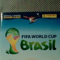 Coleccionismo deportivo: ÁLBUM BRASIL 2014 INCOMPLETO. Lote 100570223