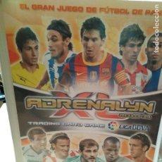 Coleccionismo deportivo: ÁLBUM ADRENALYN 2010-11 CON 393 CROMOS MUY COMPLETO. Lote 101172027