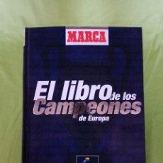 Coleccionismo deportivo: ÁLBUM/LIBRO EL LIBRO DE LOS CAMPEONES DE EUROPA, MARCA, INCOMPLETO, 1999. Lote 101194087
