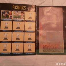 Coleccionismo deportivo: LOTE 3 ÁLBUMES EDITORIAL ESTE PARA RECUPERAR CROMOS, 83/84, 94/95 Y 95/96.. Lote 101487891