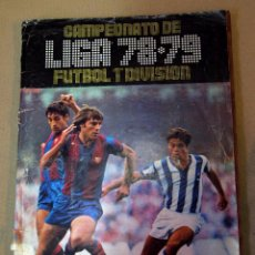 Coleccionismo deportivo: ÁLBUM EDICIONES ESTE, 1978 - 1979, 78 - 79, INCOMPLETO, VER FOTOS. Lote 101615627