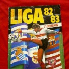 Coleccionismo deportivo: LIGA 82 83 - ALBUM CROMOS FUTBOL LIGA ESTE - COMPLETO A FALTA DE 1 CROMO. Lote 102145235