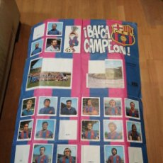 Coleccionismo deportivo: ALBUM POSTER FC. BARCELONA CAMPEON 1974. KEISA INCOMPLETO.. Lote 102580363
