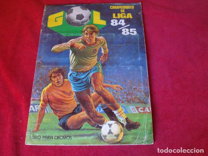 EDITORIAL MAGA 84 85 1984 1985 (Coleccionismo Deportivo - Álbumes y Cromos de Deportes - Álbumes de Fútbol Incompletos)