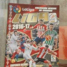 Coleccionismo deportivo: ÁLBUM DE CROMOS LIGA ESTE 2016-17 - ESTÁ PRÁCTICAMENTE VACÍO. Lote 102741631